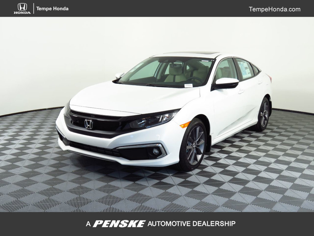 New 2020 Honda Civic Sedan EX-L CVT