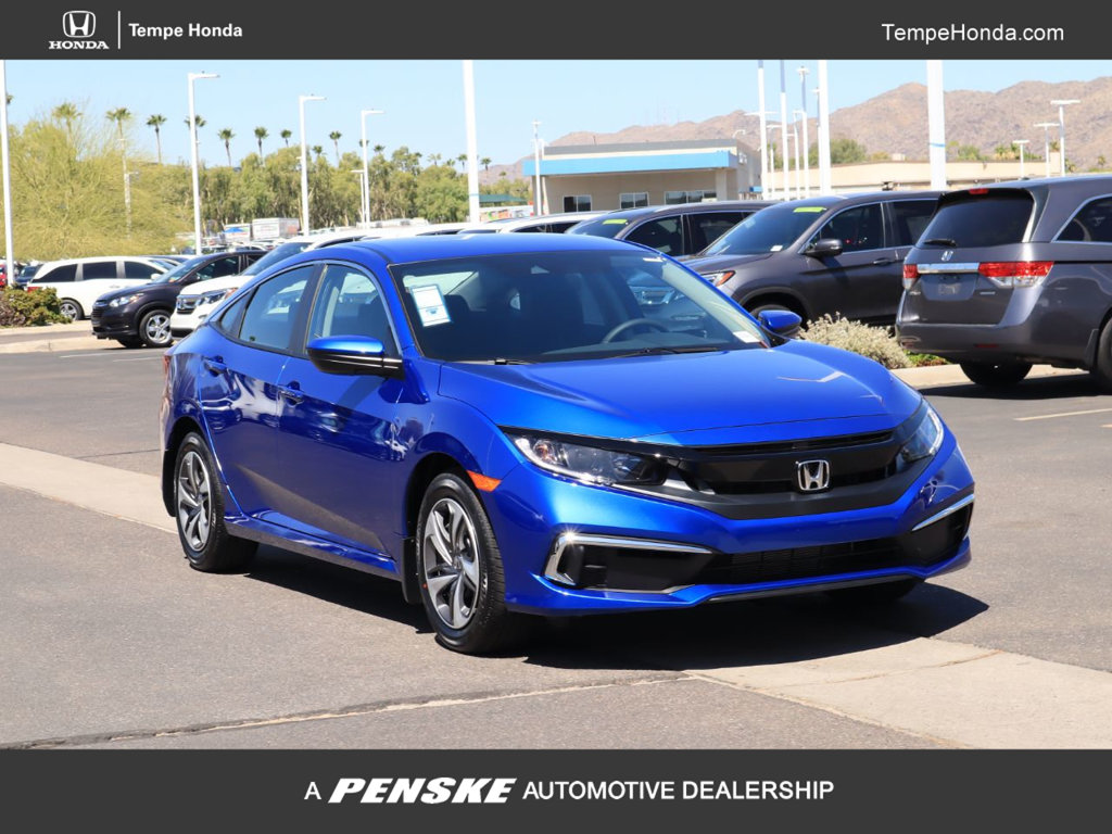 New 2019 Honda Civic Sedan LX CVT