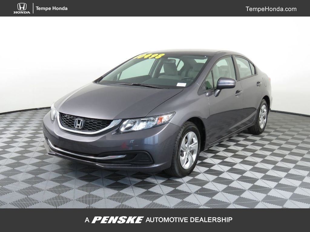 Pre-Owned 2014 Honda Civic Sedan 4dr Manual LX