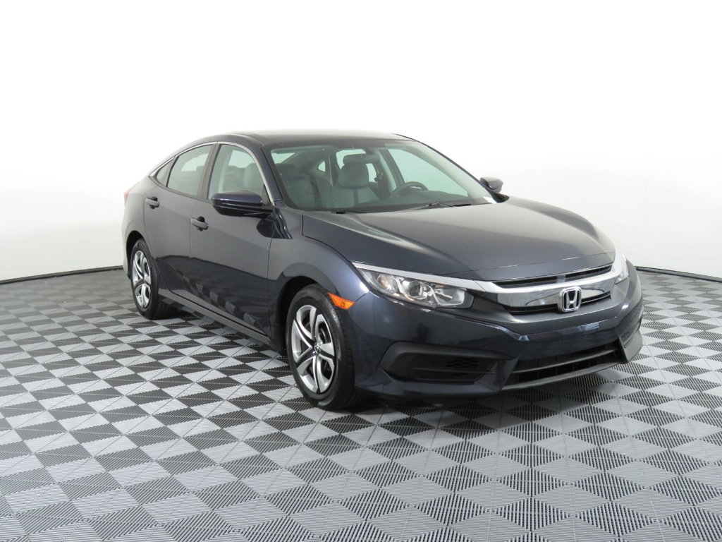 Pre-Owned 2017 Honda Civic Sedan LX CVT