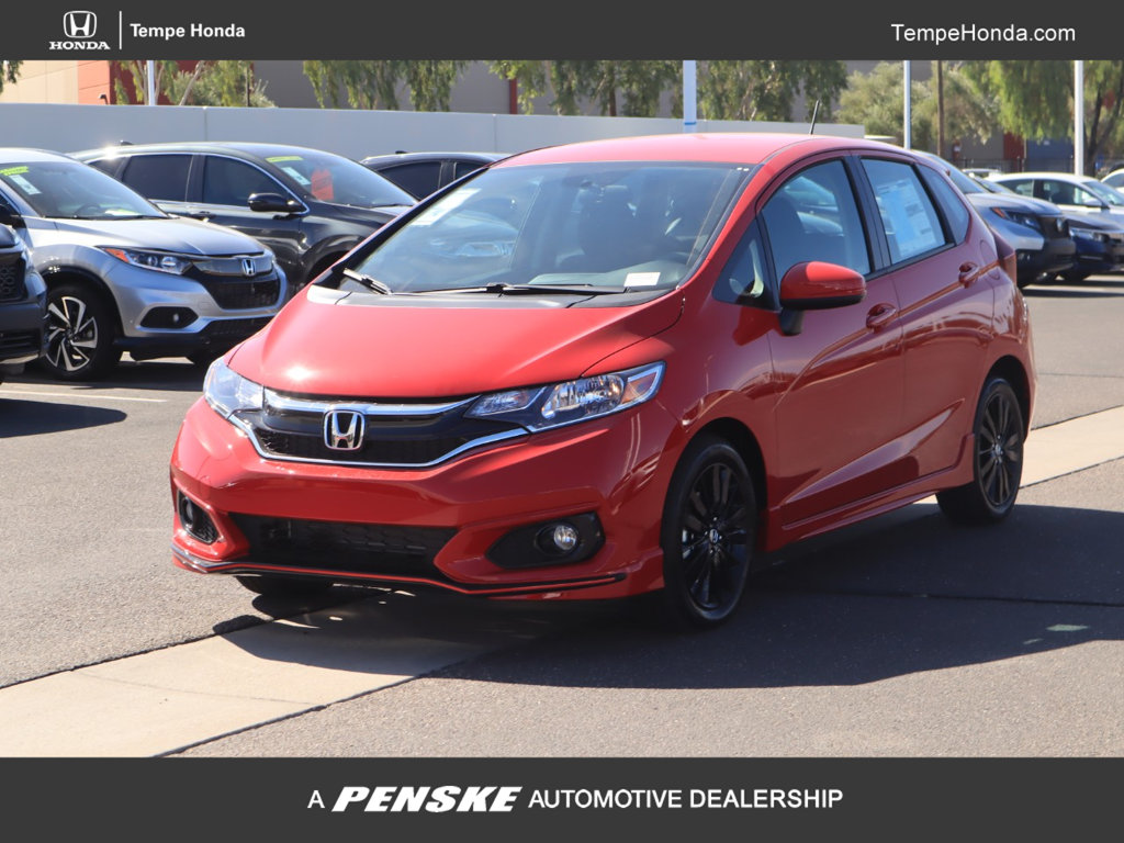 New 2019 Honda Fit Sport CVT