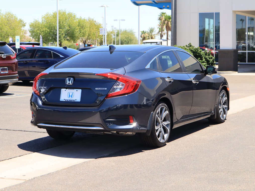 Honda Civic New >> New 2019 Honda Civic Sedan Touring Cvt