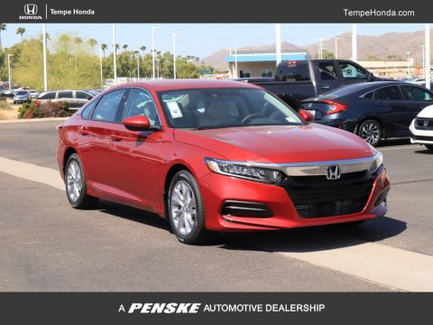 New 2019 Honda Accord Sedan LX 1.5T CVT
