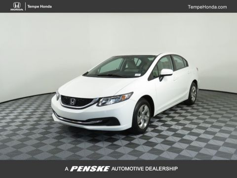 Pre-Owned 2015 Honda Civic Sedan 4dr CVT LX