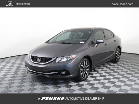 Pre-Owned 2015 Honda Civic Sedan 4dr CVT EX-L