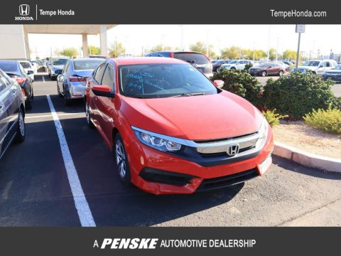 Pre-Owned 2016 Honda Civic Sedan 4dr CVT LX