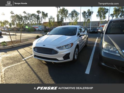 Pre-Owned 2019 Ford Fusion SE FWD