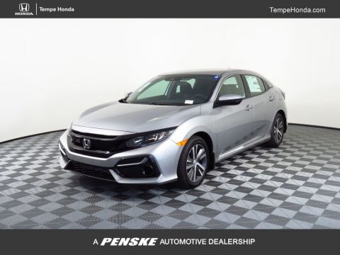 New 2020 Honda Civic Hatchback LX CVT